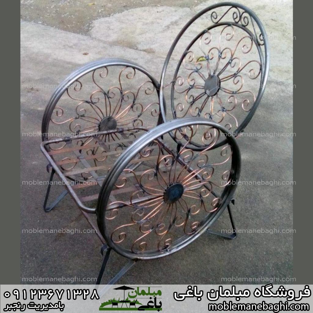 میز و صندلی فرفوژه مناسب باغ و ویلا