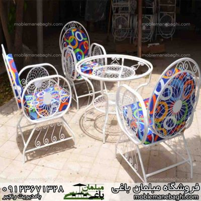 میز و صندلی خورشیدی مناسب باغ و ویلا