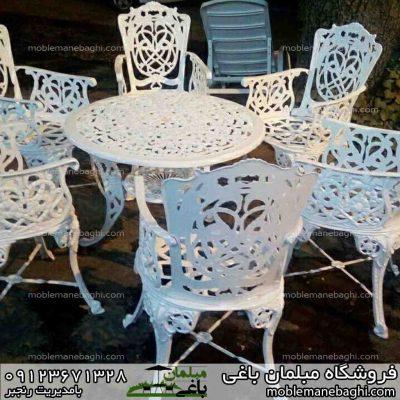 میز و صندلی مرغابی با میز ستاره ای دو نفره
