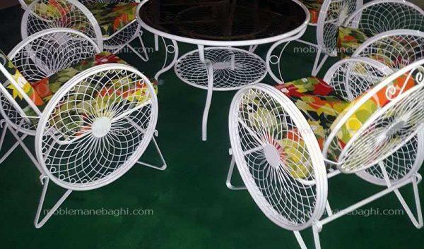 میزوصندلی باغی باکیفیت مخصوص حیاط