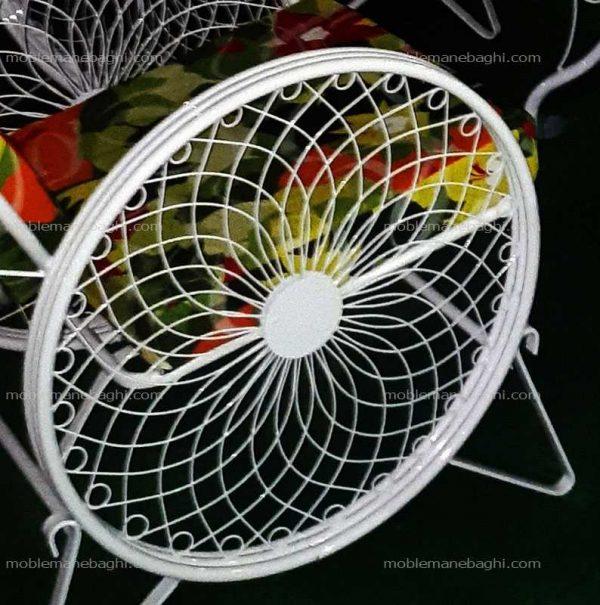 صندلی کالسکه باکیفیت و قیمت مناسب مبلمان باغی از فاصله نزدیک جهت دقت در ظرافت آن