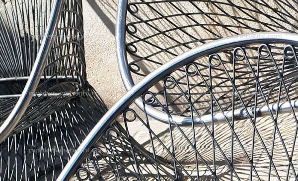 مبلمان باغی باکیفیت بامبو از فاصله نزدیک جهت مقایسه کیفیت و قیمت مناسب مبلمان باغی