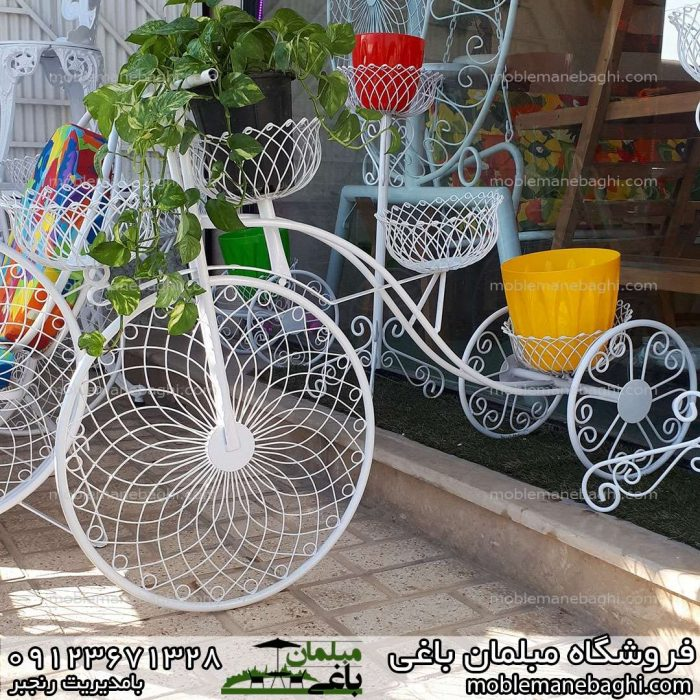 فلاورباکس جاگلدانی مدل دوچرخه