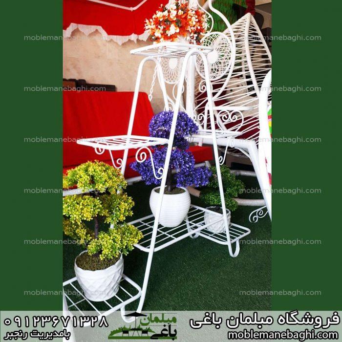 فلاورباکس یا گلدان شش شاخه مدل کتابی رنگ سفید درجه یک با قیمت مناسب