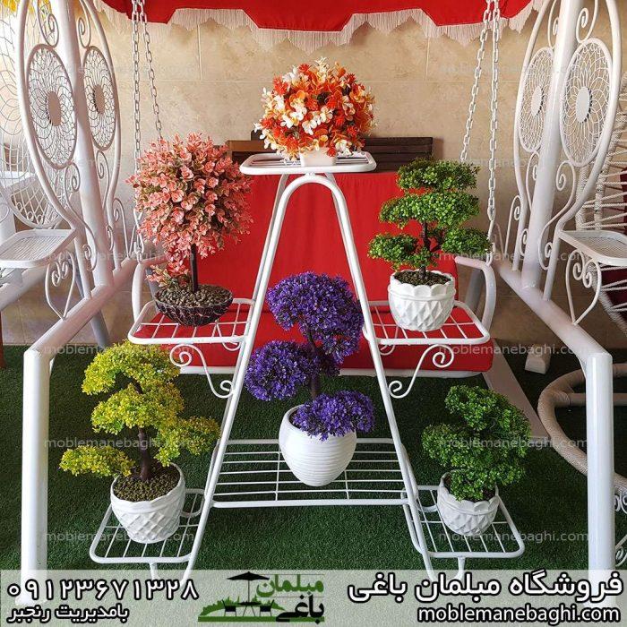 جاگلدانی فلاورباکس مدل کتابی یا هشتی امکان بیش از شش گل