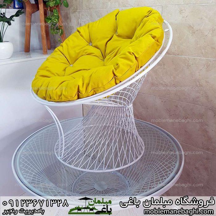 مبلمان بامبو زرد قیمت مناسب مخصوص فضای باز ویلا باغ تشک مبلی خاص