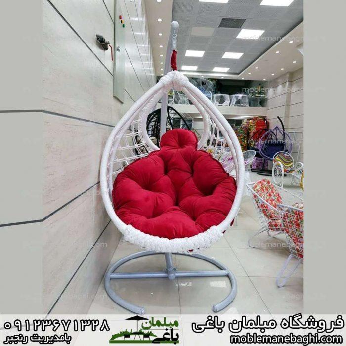 صندلی راحتی یا تاب راحتی یا تاب ریلکسی مدل ابریشمی مونیخ درجه یک بسیار شیک و باکیفیت قیمت مناسب