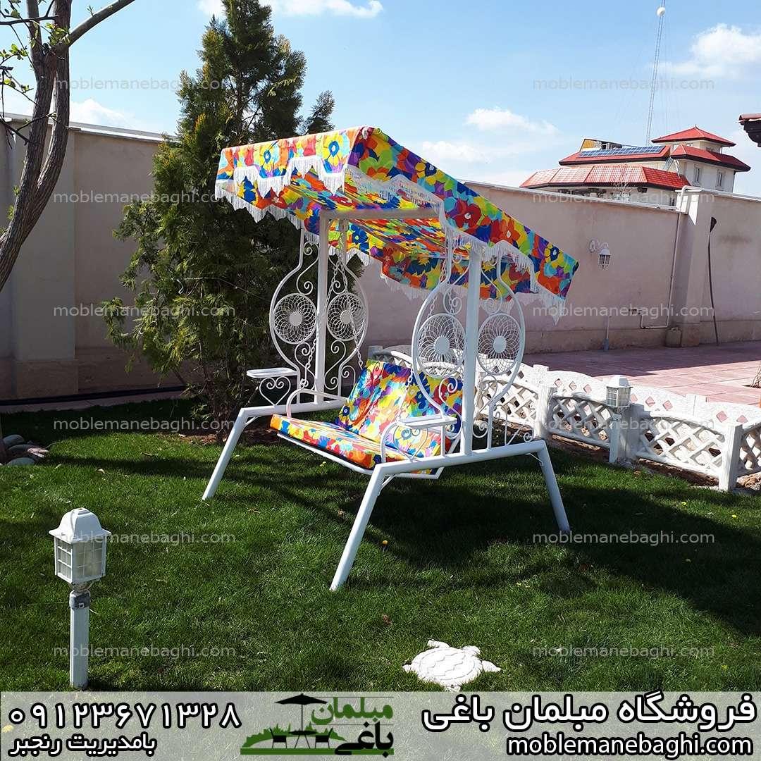 تاب باغی دونفره مدل خورشیدی مناسب ویلا و فضای باز بسیار باکیفیت و درجه یک داخل محوطه ویلایی لاکچری