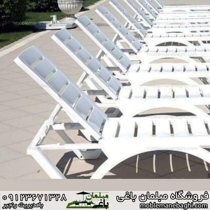 قیمت و پخش عمده تخت کنار استخری به تعداد بالا در کنار یکدیگر