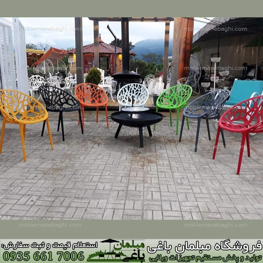 صندلی پلی کربنات مدل درختی در رنگ بندی های متنوع و بینظیر و پخش عمده صندلی پلی کربنات با قیمت مناسب