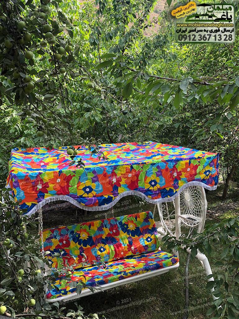 تاب فلزی باغی مدل گلبرگ واقع در ویلایی زیبا در بومهن تهران ارسالی مشتری